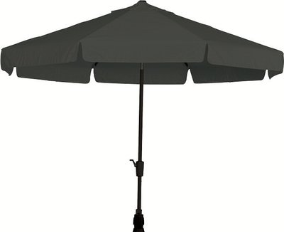 Toledo ronde parasol 3,5 meter, kleur: antraciet