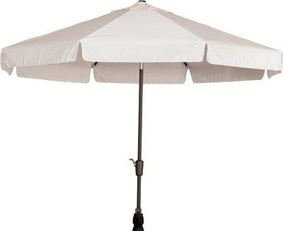Toledo ronde parasol 3,5 meter, kleur: grijs