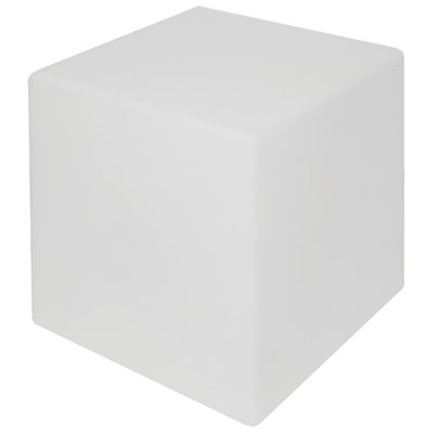 Shining Cube 43 cm wit