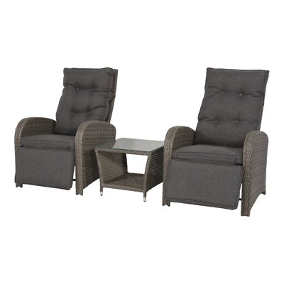Loungeset wicker Melia