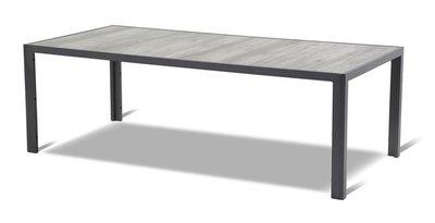 Tuintafel Tanger 228x105 cm antraciet