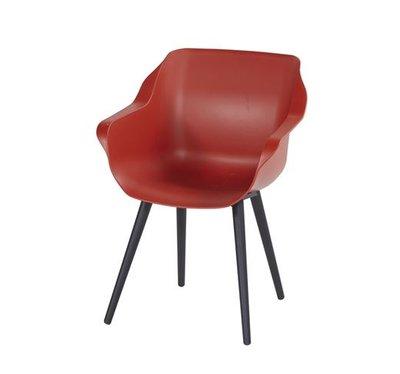 Hartman Sophie Studio Armchair, kleur: rood
