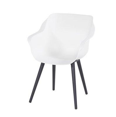 Hartman Sophie Studio Armchair, kleur: wit/zwart