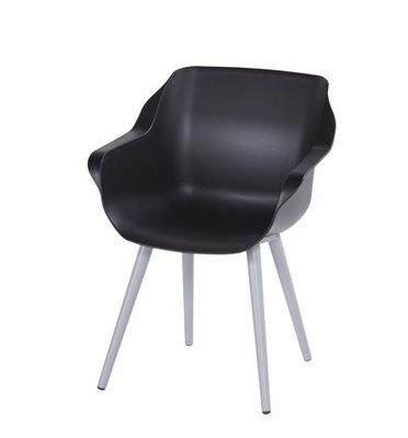 Hartman Sophie Studio Armchair, kleur: zwart/grijs