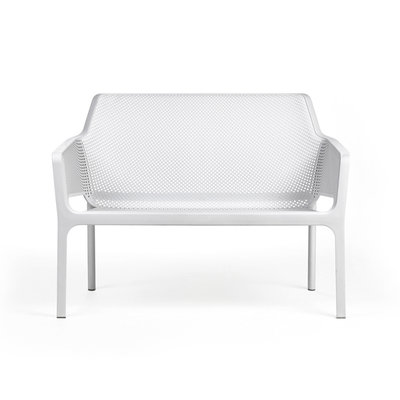 Nardi Net Relax Bank kunststof kleur: wit