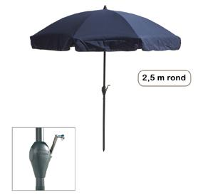Parasol Corfu rond 2,5 meter