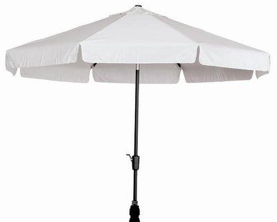 Toledo ronde parasol 3,5 meter, kleur: taupe