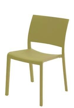 Fiona  terrasstoel Resol kleur: olijf groen
