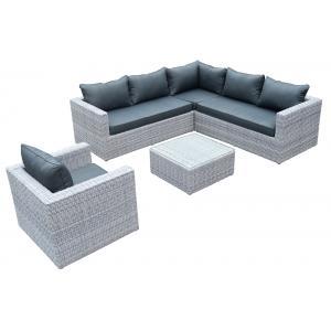 wicker lounge hoekset Emely
