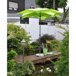Blute ronde parasol 270 cm, kleur: groen