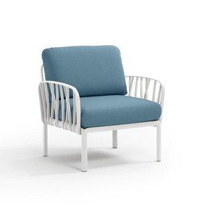 Nardi outdoor komodo loungestoel wit bianco
