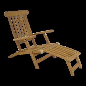 Teak deckchair