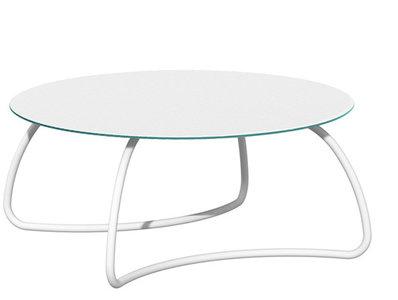 Tafel Rond Wit : Nardi loto tafel rond 170 cm kleur: wit tendence tuinmeubelen hengelo