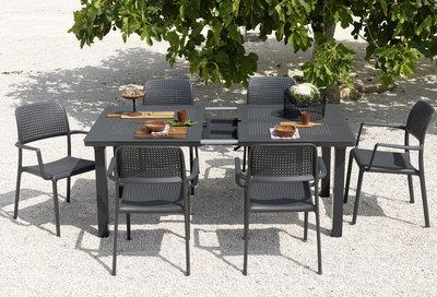 Nardi Bora tuinset met bora stoel en libeccio tafel